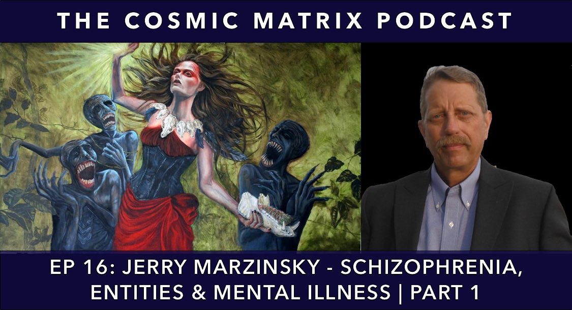Jerry Marzinsky – Schizophrenia, Entities & Mental Illness | TCM Podcast #16 (Part 1)