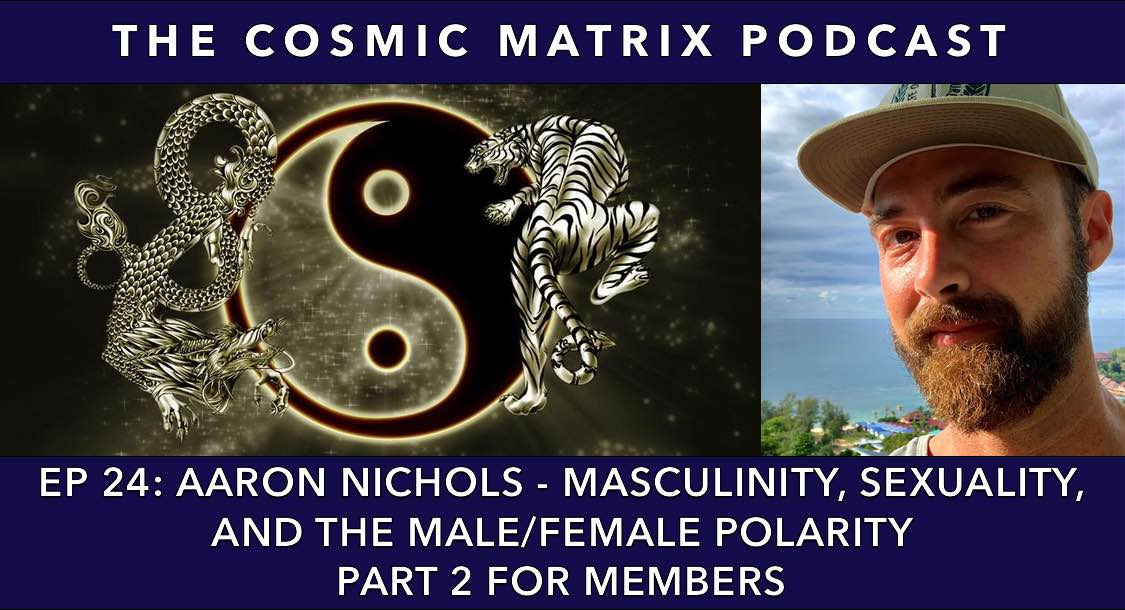 Aaron Nichols – Masculinity, Sexuality, and the Male/Female Polarity | TCM #24 (Part 2 for members)