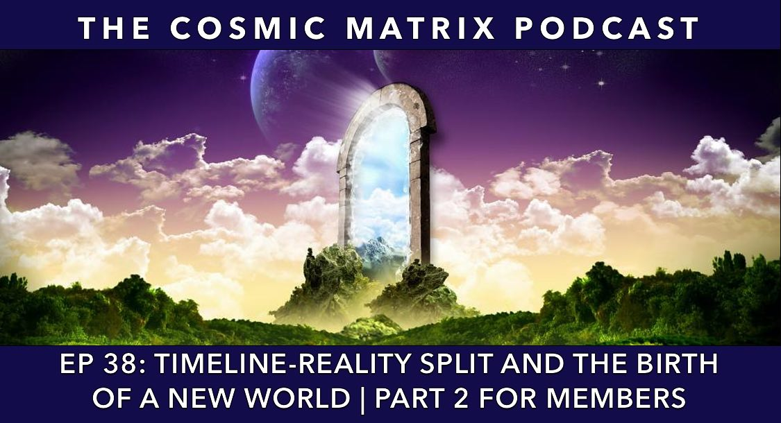 Timeline-Reality Split and the Birth of a New World | TCM #38 (Part 2 for Members)